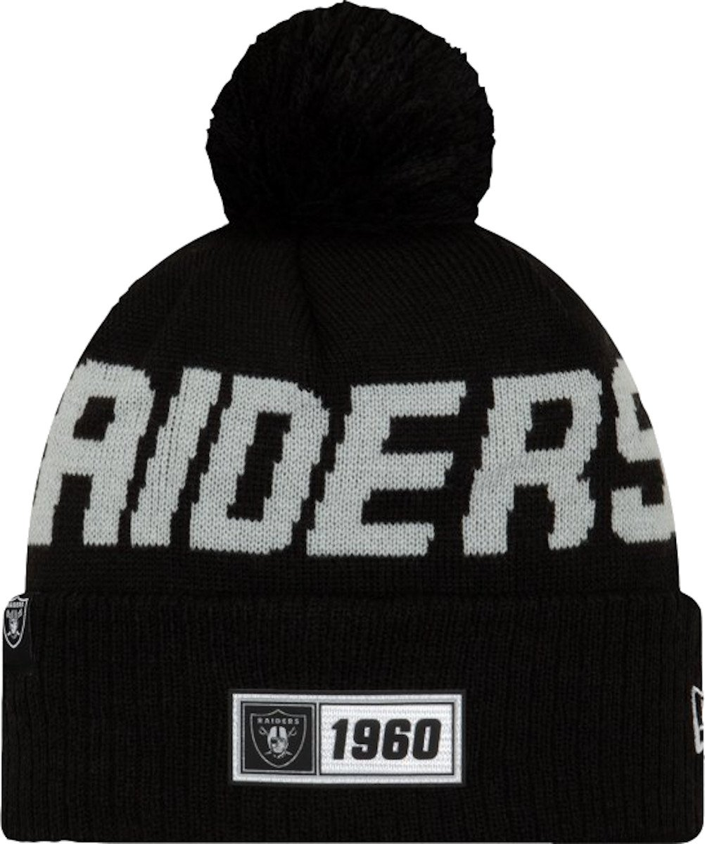 Kape New Era Oakland Raiders RD Knit Cap