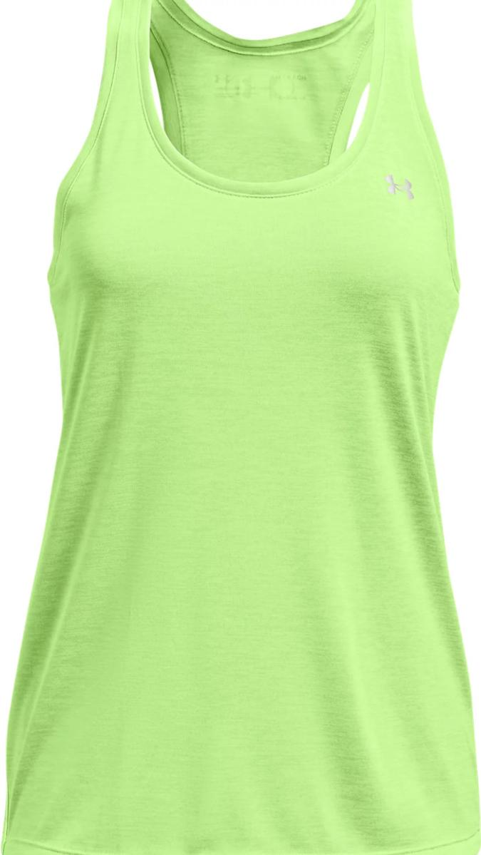 Majica bez rukava Under Armour Tech Tank - Twist-GRN